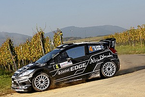 WRC Ford Rallye de France leg two summary