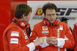 Formula 1 Ferrari's Nicolas Tombazis about the Japanese Grand Prix