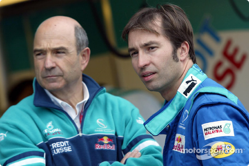 Frentzen plays down fitness in Formula One