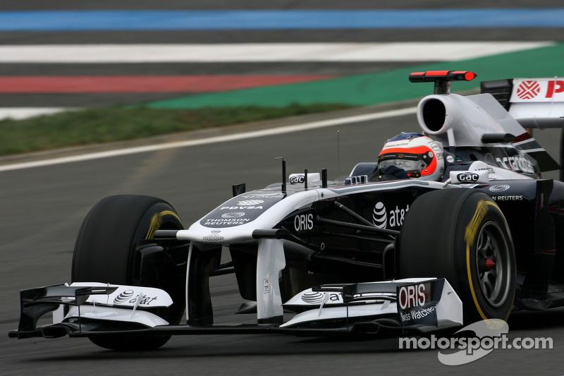 Williams' Mark Gillan about the Korean GP at Yeongam