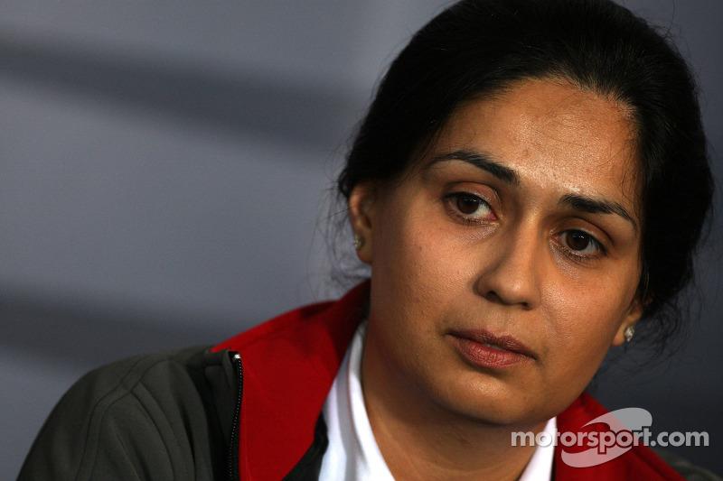 Sauber interview with Team CEO Monisha Kaltenborn-Narang