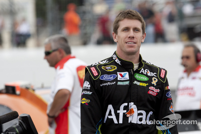 Carl Edwards leads the points and Roush Racing to Talladega