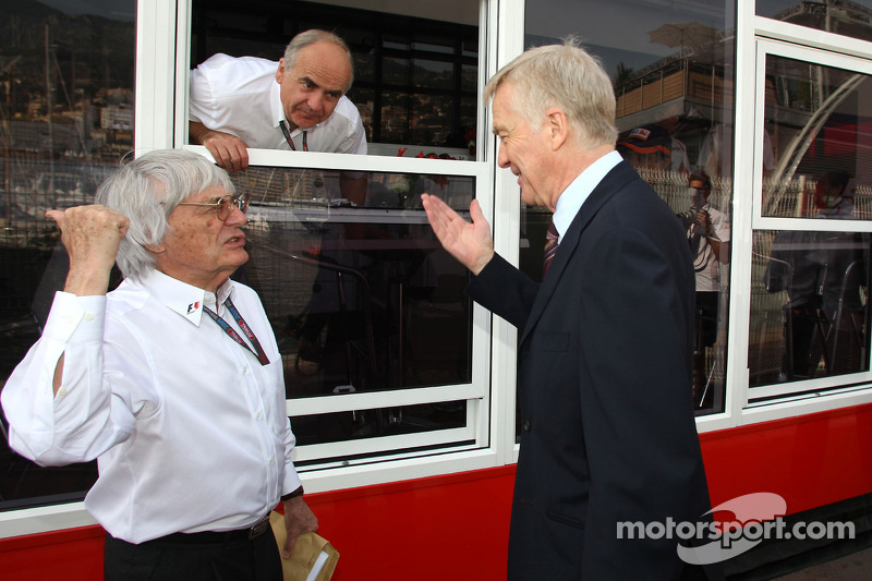 Sorry Ecclestone would welcome Mosley comeback