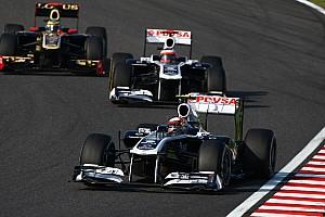 Formula 1 Williams Indian GP qualifying report