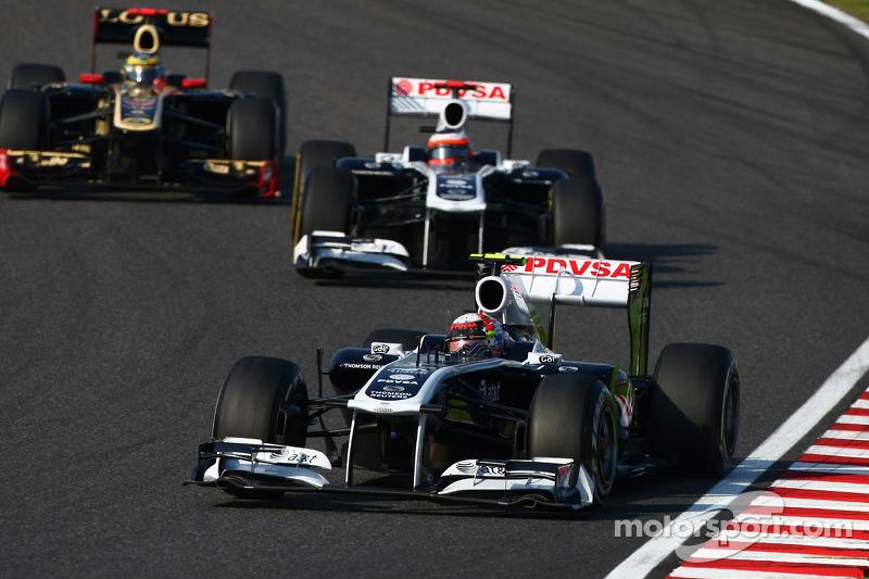 Williams Indian GP qualifying report