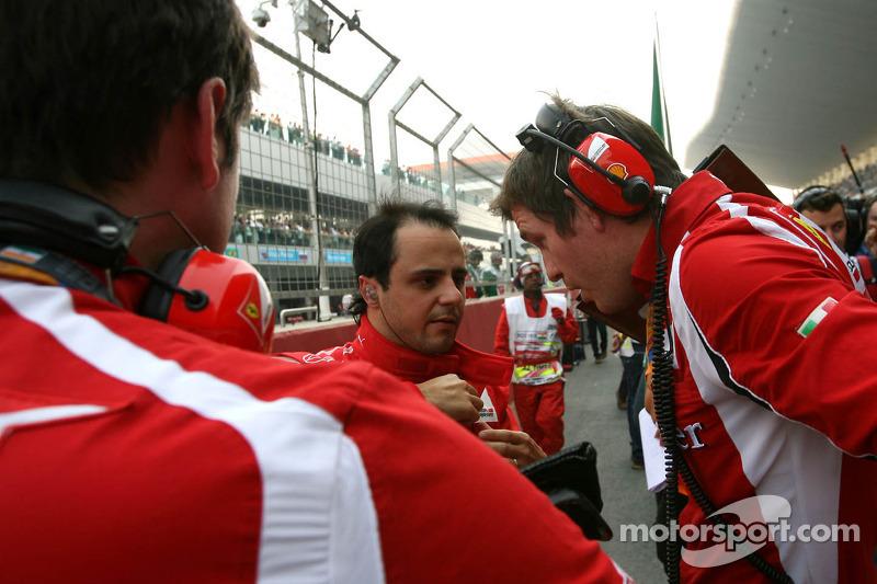Ferrari Indian GP feature - Ferrari on the podium at India's successful F1 debut