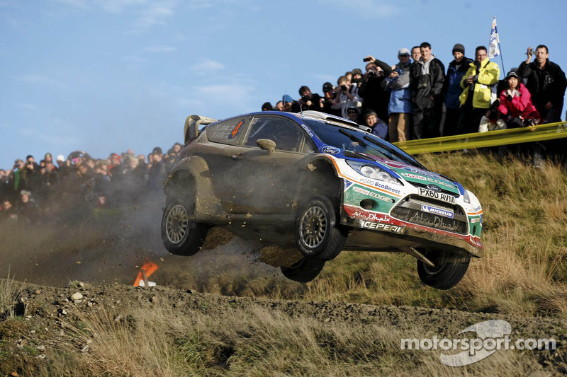 Latvala wins Wales Rally GB, Loeb retired on final day