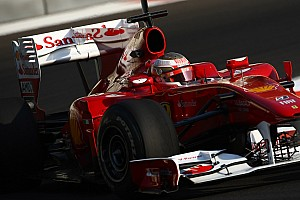 Formula 1 Ferrari Abu Dhabi young driver test Thursday report