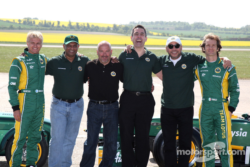 Comments suggest 2012 Caterham lineup not in doubt