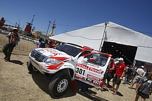 Dakar Team Imperial Toyota news before opening stage