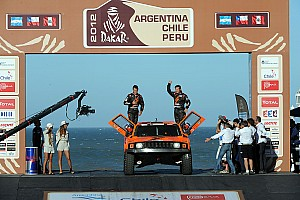 Dakar Team SPEED Hummer stage 1 report
