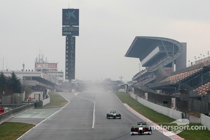 Now Barcelona's Formula One race under Spanish cloud