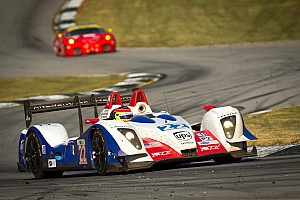ALMS Series LMP2 class on the way up in 2012