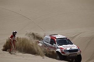 Dakar Toyota stage 12 report