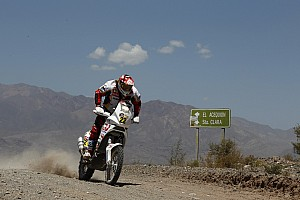 Dakar Aprilia Racing stage 10 report