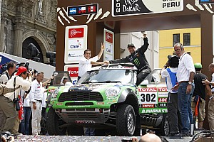 Dakar Team X-raid stage 14 report
