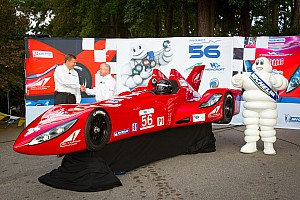 Le Mans Michelin delivers first tires to DeltaWing