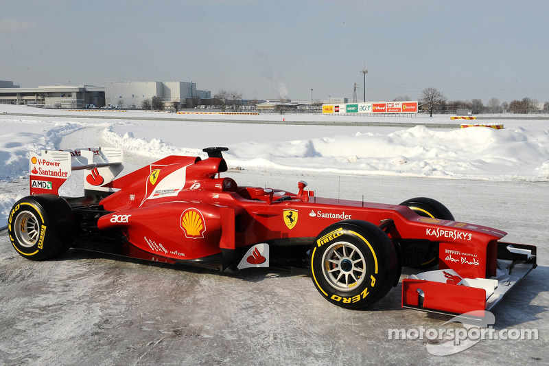 Ferrari F2012 ready for new season report
