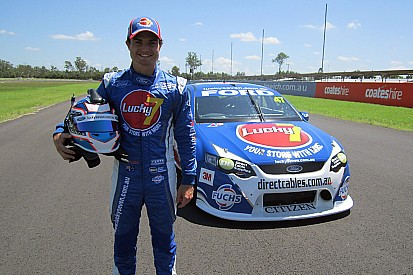 Tim Slade debuts 2012 Lucky 7 Falcon in pre-test Shakedown