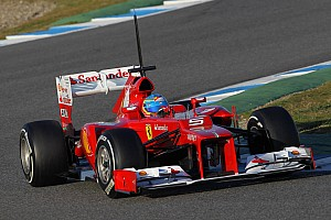 Formula 1 Alonso wraps up the final day in Jerez with fastest lap time