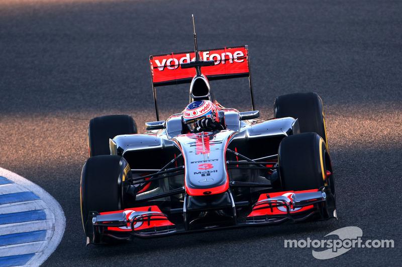 McLaren Jerez test day 2 report