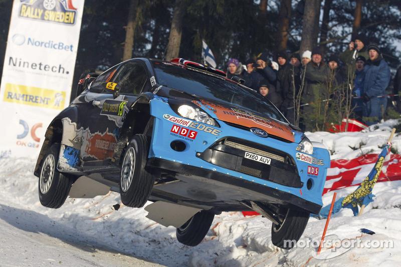 M-Sport Rally Sweden leg 2 summary