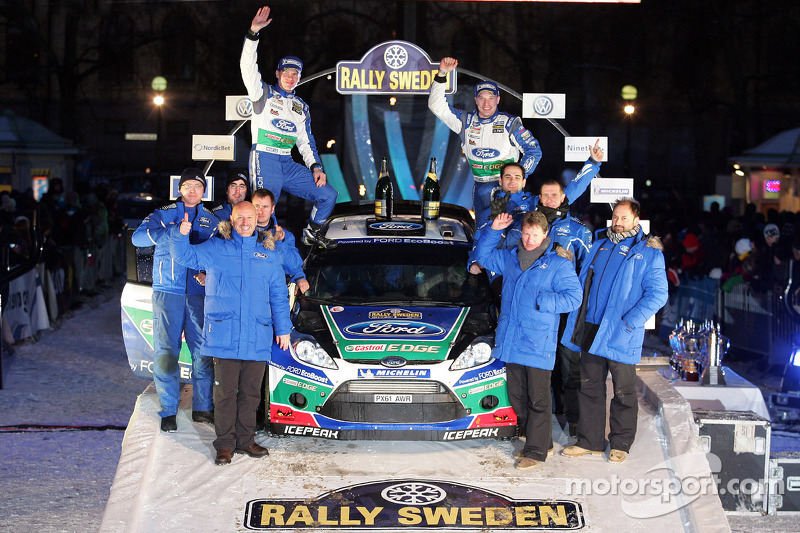 Ford Rally Sweden final summary