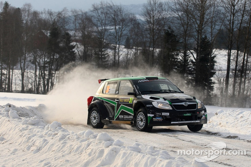 Hayden Paddon Rally Sweden leg 2 summary