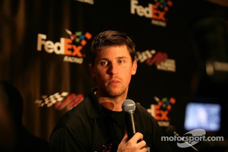 Daytona 500 media day visit: Kyle Busch and Denny Hamlin