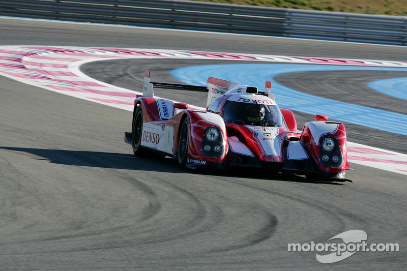 First Endurance Run For The Toyota TS030 Hybrid