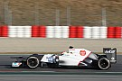 Sauber Barcelona testing -  Day 1 report
