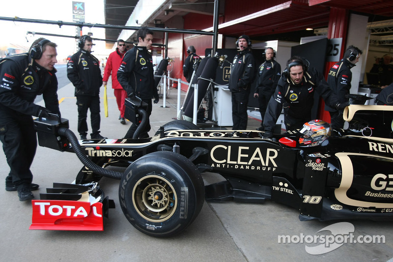 Lotus back on track with redesigned chassis