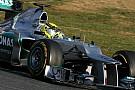 Mercedes Barcelona test II -  Day 1 report