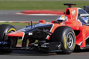 Formula 1 Marussia present MR01 at Silverstone