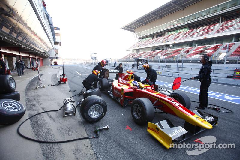 Racing Engineering Barcelona test summary