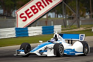 IndyCar Sarah Fisher Hartman Racing Sebring Open Test day 4 report