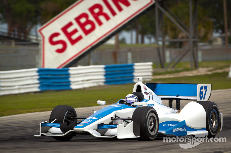 Sarah Fisher Hartman Racing Sebring Open Test day 4 report