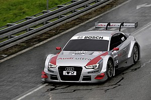 DTM Audi drivers are fit for the new A5 DTM