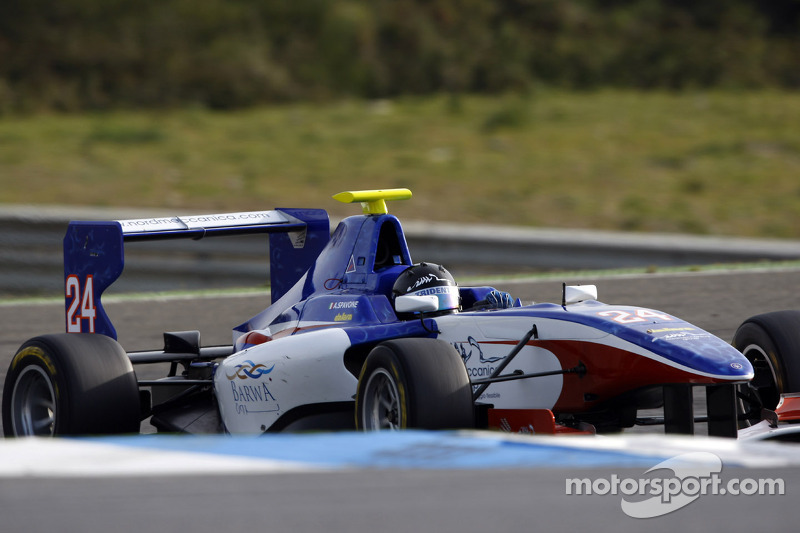 Antonio Spavone lines-up with Trident Racing in GP3 Series