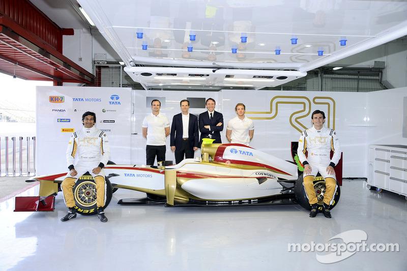 HRT drivers feel positive ahead of Australian GP in Melbourne