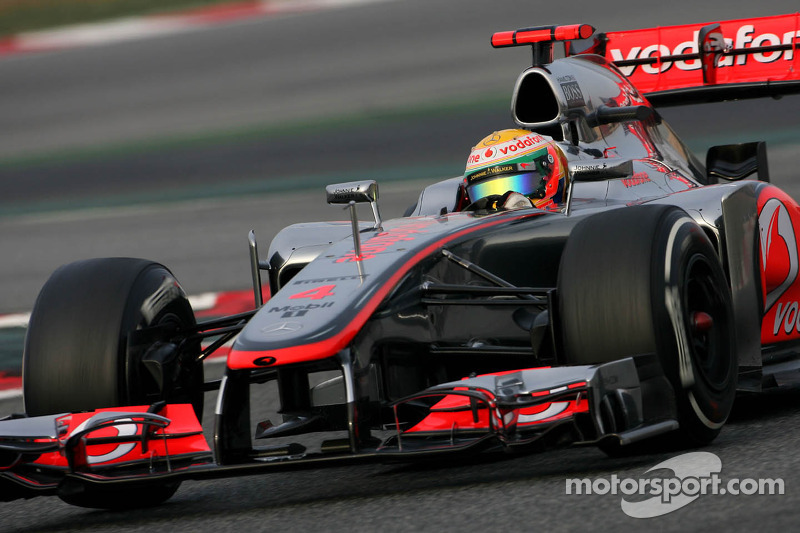 McLaren Australian GP - Melbourne Friday practice report