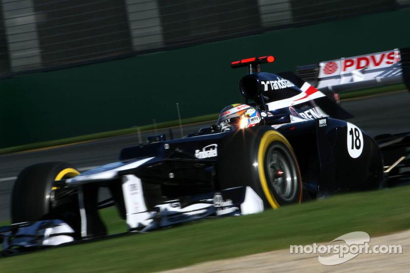 Williams Australian GP - Melbourne qualifying report