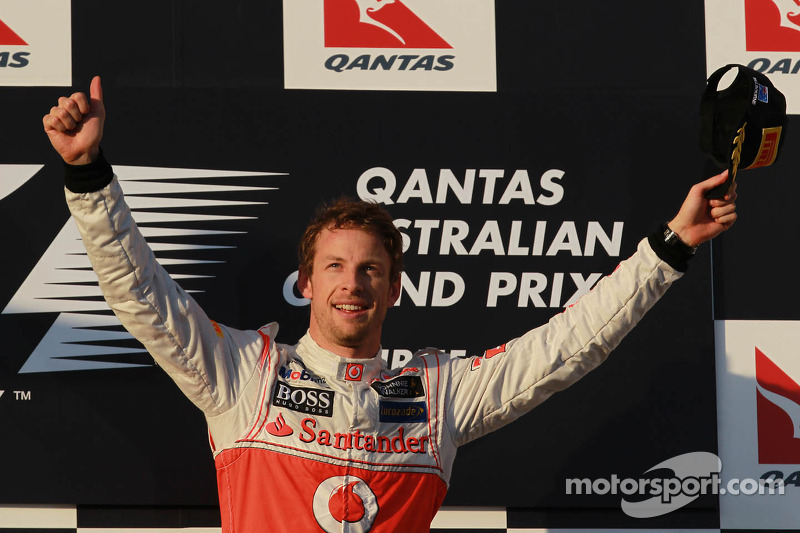 Brilliant Button blasts to victory in Australian GP season opener