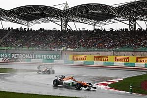 Formula 1 Force India Malaysian GP - Sepang race report