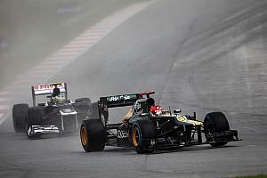 Formula 1 Caterham Malaysian GP - Sepang race report