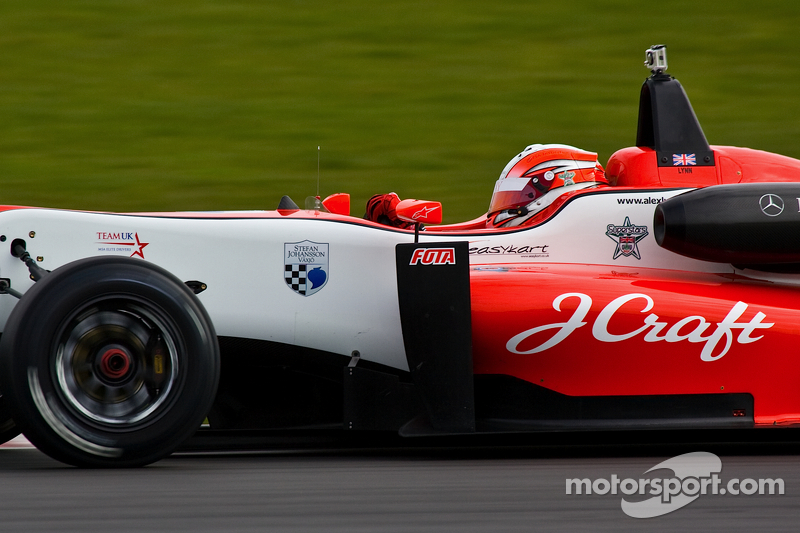 Lynn on top in Monza British F3 free practice