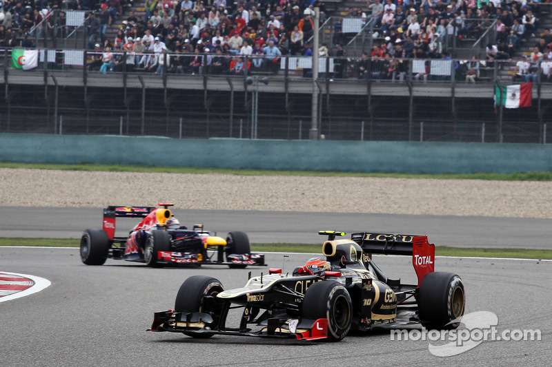 Lotus Chinese GP - Shanghai race report