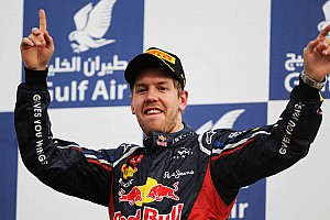 Formula 1 Vettel back on top with his first win of 2012 in Bahrain Grand Prix