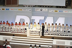DTM Audi A5 DTM ready to start from the grid