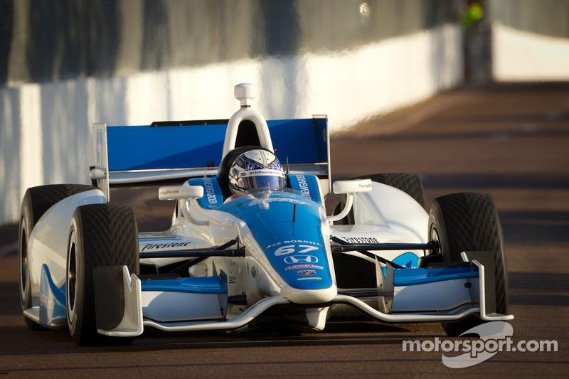 Sarah Fisher Hartman Racing Sao Paulo qualifying report